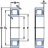 thrust ball bearing applications NU 3188 ECMA/HB1 SKF